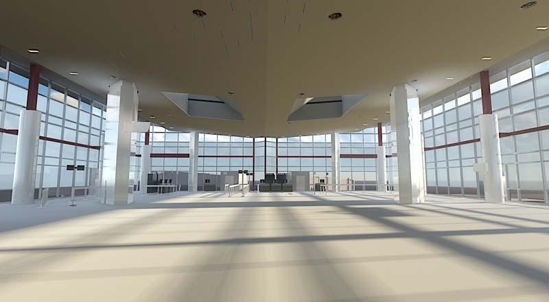 Terminal C North Concourse