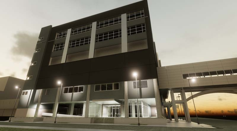 Building 17E Expansion, Animal Research Facility