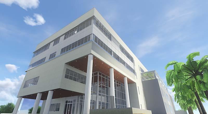 Academic Complex, Academic Building